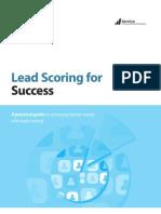 Lead Scoring for Success