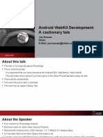 Android WebKit Development - A Cautionary Tale Presentation 1.pdf