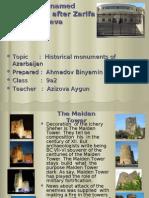 Historical monuments of Azerbaijan