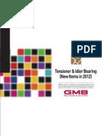 Gtb Rolamentos Tensores 2012 Catalogo