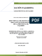 Perfil de Proyecto Red Virtual de Instituciones Educativas Inteligentes de Fajardo 2013