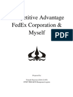 Competitiv Advantage Fedex an Myself