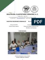 Boletín Rotario del 4 de junio de 2013