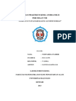 Laporan Praktikum Kimia Anorganik II