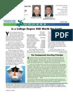 Munn & Morris Financial Advisors June Newsletter