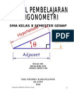 Modul Trigonometri x