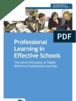 Prof Learning Ineffective Schools