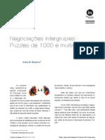 In-Mind_Português, 2010, Vol.1, Nº.1, Teixeira, Negociações intergrupais