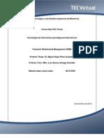 Aporte Customer Relationship Management (CRM)