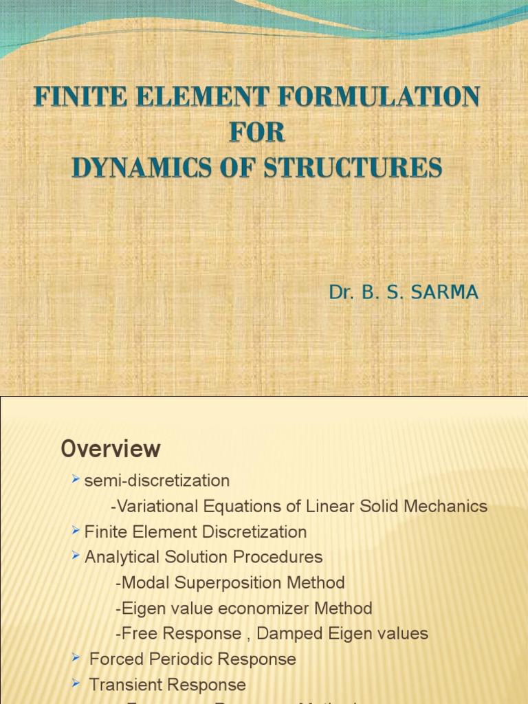 Copy of Finite Element Formulation   Finite Element Method