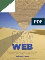 Cómo escribir para la web - Guillermo Franco