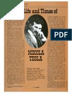 The Life and Times of Nikola Tesla (E.J. Quinby)