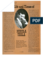 The Life and Times of Nikola Tesla (E.J. Quinby)