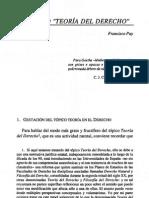 El tópico teoria del derecho- Francisco Puy.pdf