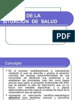 ANÁLISIS DE LA  SITUACIÓN  DE  SALUD