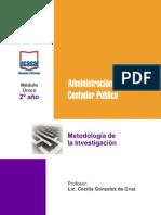 2o Ano - Metodologia de La Investigacion - Todas Las Sedes (1)
