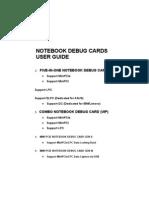 Combo Debug Card