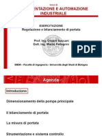 Regolazione Portata e Bilanciamento
