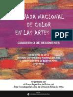 Color en las Artes 2012 e-libro Índice y Prólogo