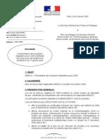 Evolutions législatives 2009