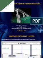 PRESENTACION Cimentaciones en Puentes - Rafhael Andres Luna Tezna