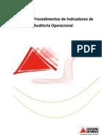 Manual de Procedimentos de Indicadores de Auditoria Operacional