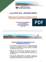 Reglamento depósito de relaves