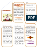 Leaflet Teknik Relaksasi Progresif Doc