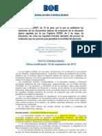 Documentos evaluación subrayado
