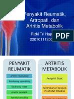 Penyakit Reumatik, Artropati, Dan Artritis Metabolik Kite