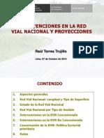 2 Intervenciones de Provias Nacional 2010 y Proyecciones
