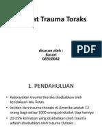 Referat Trauma Toraks