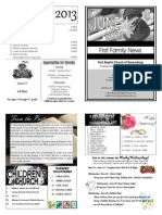 FBC Newsletter 06 2013