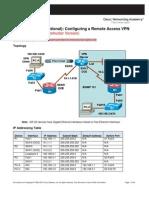CCNASv1.1 Chp08 Lab C Rmt Acc VPN Instructor