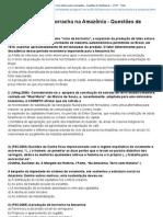 Primeiro Ciclo da Borracha na Amazônia - Questões de Vestibulares ~ CHST - Teste