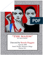 The Maids Research and Rehearsal Reports
