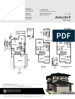 Avalon One at Windermere Model Sales Sheet