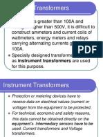 Instrument Transformers 2009-7