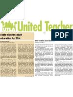 AdultEd United Teacher Marc Wutschke April 17 2009