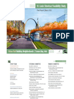 St. Louis Streetcar Feasibility Study - Final (2013)
