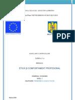 Etica Si Comportament Profesional