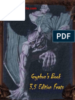 Gryphon's Book of Feats (d20 system)