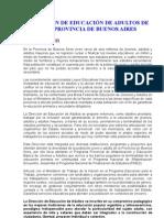 Direccion de Educacion de Adultos de La Provincia de Buenos Aires