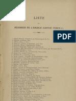 Reclams de Biarn e Gascounhe. - Liste des membres 1921 (25e Anade)