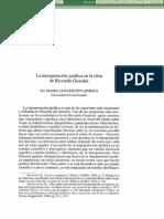 La Interpretacion Juridica En La Obra De Riccardo Guastini.pdf