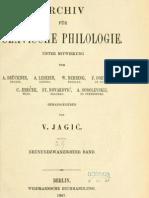 Archiv für slavische Philologie 6