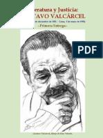 Gustavo Valcarcel - Literatura y Justicia