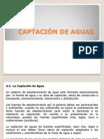 CAPTACIÓN DE AGUAS