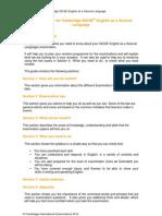 Learner Guide for IGCSE ESL 0510