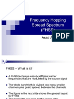 49457528 Frequency Hopping Spread Spectrum FHSS